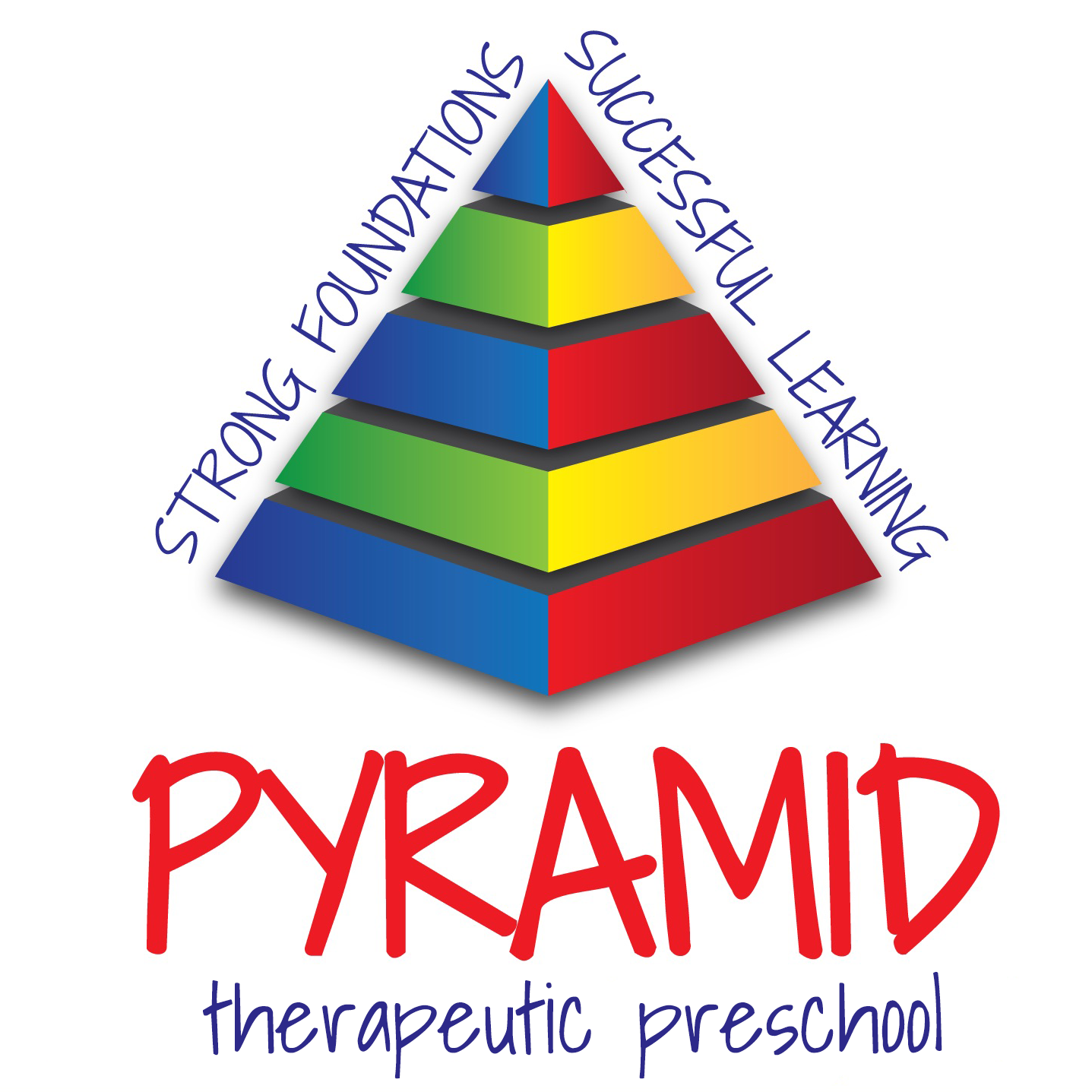 Pyramid Early Learning Center Vertical Logo